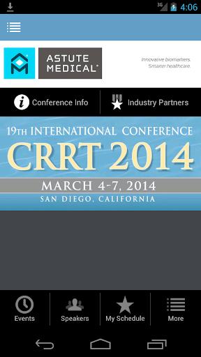 CRRT 2014