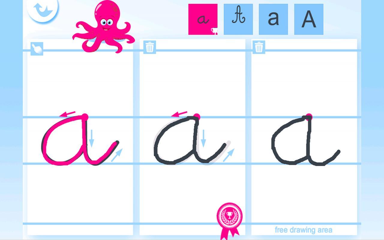 Extrêmement Ecrire l'alphabet – Applications Android sur Google Play BB73