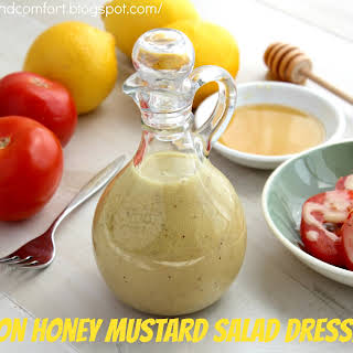Lemon Honey Mustard Salad Dressing.