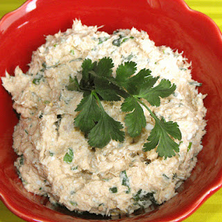 Tuna Pate with Garlic and Cilantro.