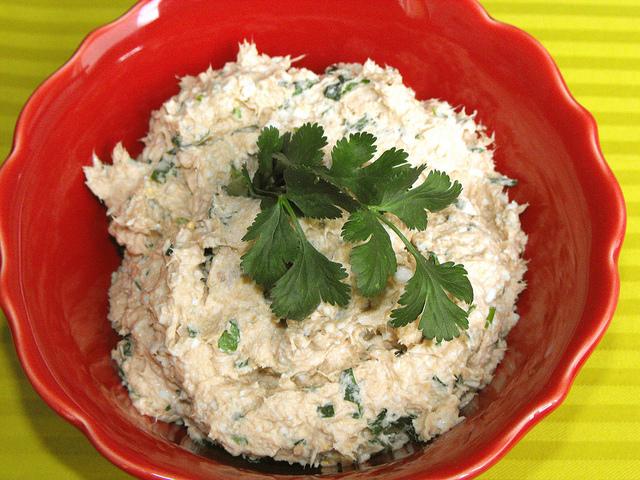 Tuna Pate with Garlic and Cilantro