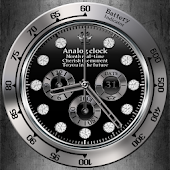 Luxury analog clock