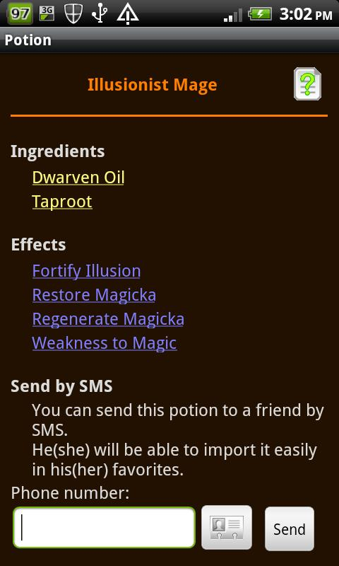 Skyrim Alchemist- screenshot