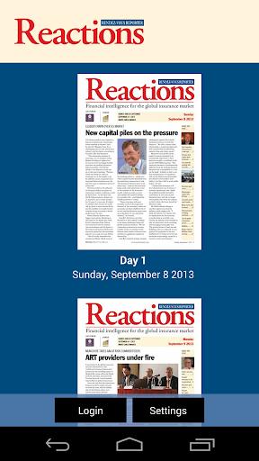 Reactions Baden Baden Reporter
