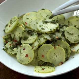 Sweet and Spicy Cucumber Salad with Fresh Dill Recipe