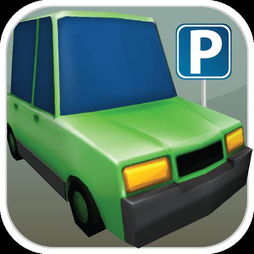 模擬必備App|Cartoon Car Parking LOGO-綠色工廠好玩App