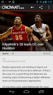 The Cincinnati Enquirer - screenshot thumbnail