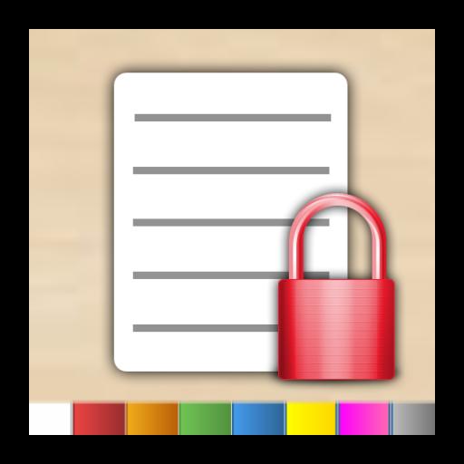 appNoteLock - Bloco de Notas LOGO-APP點子
