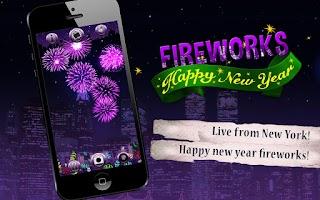 Screenshot of Happy New Year Fireworks