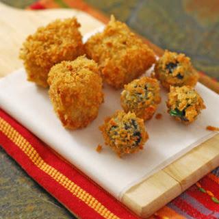 Fried Stuffed Olives