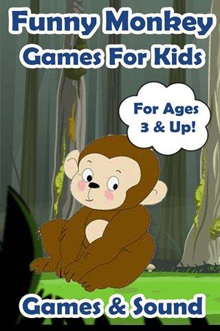 Funny Monkey Games For Kids