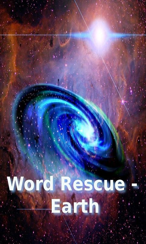 Word Rescue - Earth- screenshot