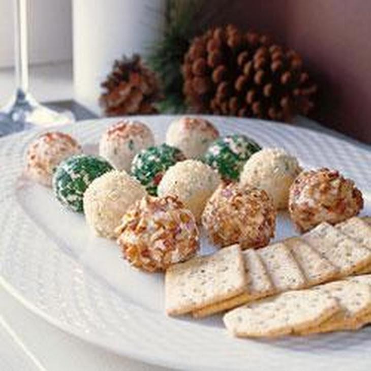 Holiday Cheese Truffles Recipe