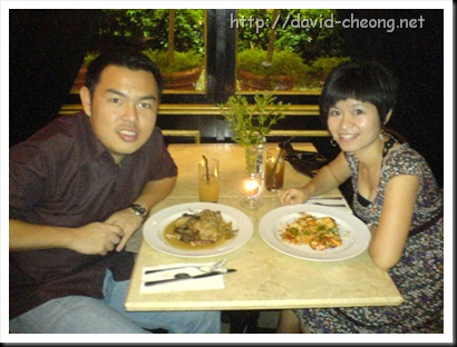 birthday dinner at cafe cafe