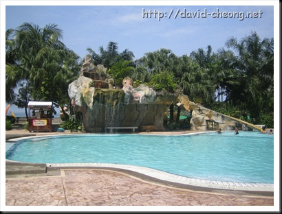 Glory beach resort swimming pool, Port Diction