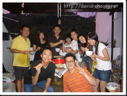 Group photo with our steamboat