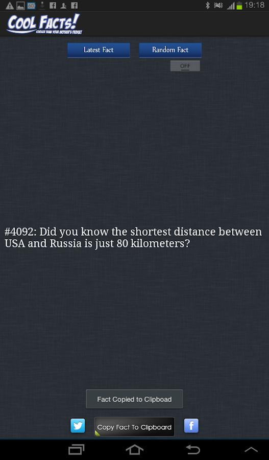 Cool Facts Official - screenshot