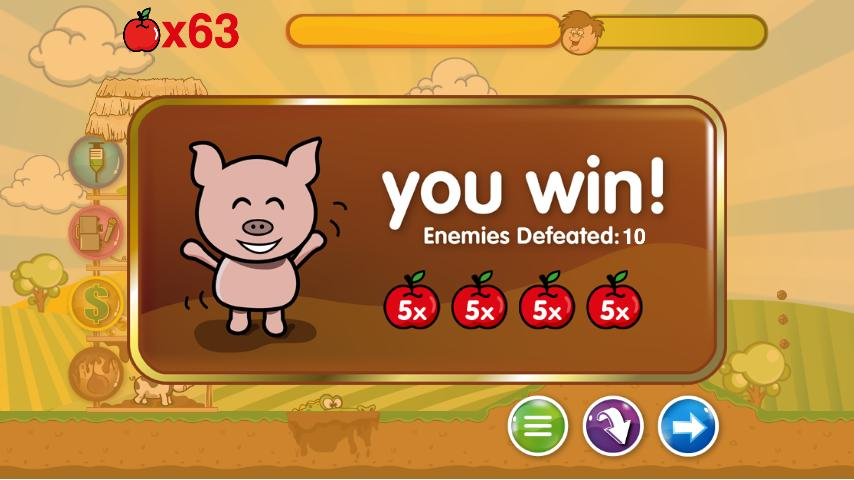 Piggies Strike Back - screenshot