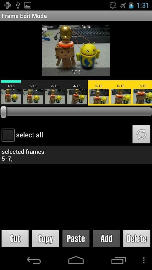 Stop Motion Maker - KomaDori- screenshot