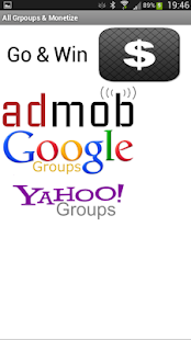 玩商業App|Admob, Google Groups, Yahoo免費|APP試玩