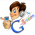 G-StreamPro – Cloud MP3 player logo