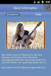 Mary Beth Cross Band - screenshot thumbnail