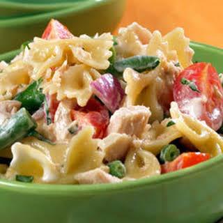 Tuna & Bow Tie Salad.