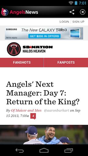 Los Angeles Baseball News for PC