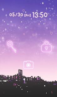 【免費個人化App】可愛換裝桌布★Twilight sky-APP點子