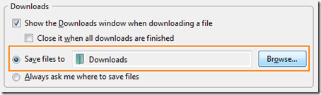 how to find firefox download history