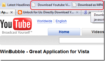 Youtube Hack Code: Download and Save Youtube Videos using Any