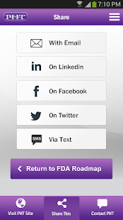 FDA Roadmap by PHT- screenshot thumbnail