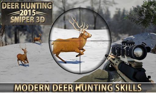 Deer Hunting u2013 2015 Sniper 3D  {cheat|hack|gameplay|apk mod|resources generator} 5