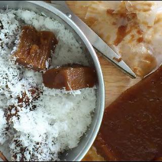 KUEH KO SWEE, AKA KUIH KOSUI (STEAMED PALM SUGAR FUDGE) Recipe
