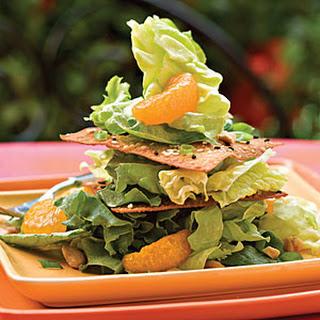 Crispy Sesame Salad Stack