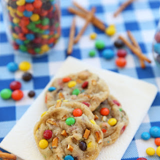 Salted Peanut Butter Pretzel M&M'S®  Cookies