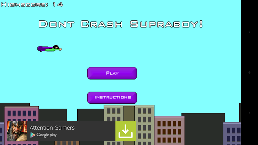 Don't Crash Supraboy