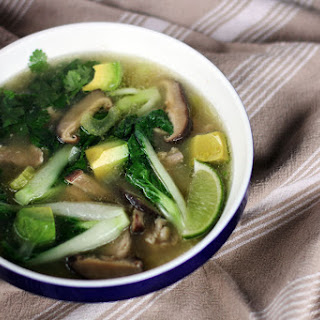 Chicken and Vegetable Miso Soup.