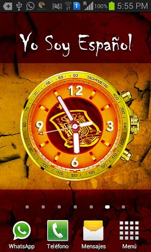 Reloj España Live Wallpaper