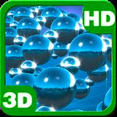 Chrome Spheres Torque 3D Flock for Lollipop - Android 5.0