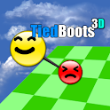 Tied Boots 3D logo
