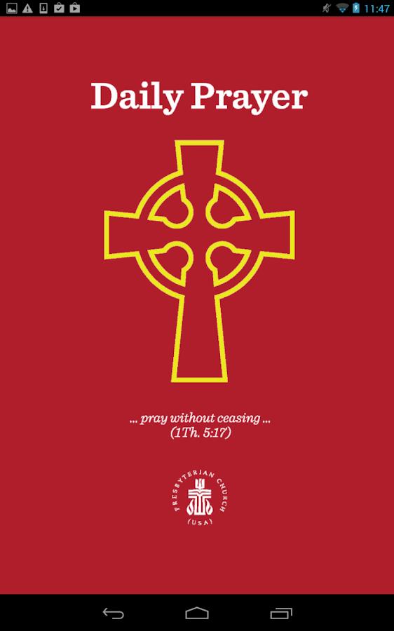 Daily Prayer PC(USA) - screenshot