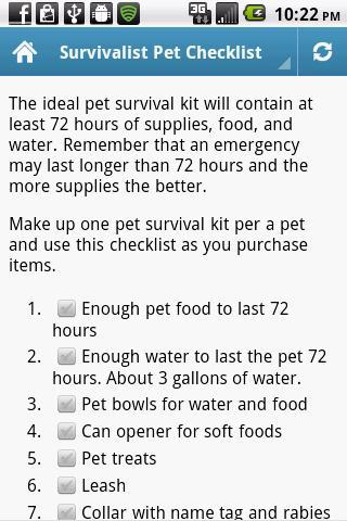 Survivalist Pet- screenshot
