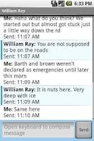 Screenshot of No Texting While Driving