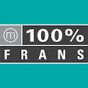 100% Frans logo
