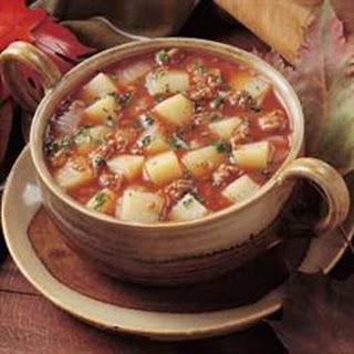 Spicy Potato Soup II.