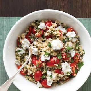 Mediterranean Grain Salad.