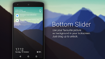 Screenshot of Bottom Slider