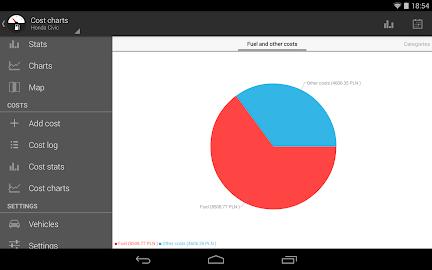 Fuelio: Fuel log & costs Screenshot 16