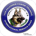 K9 Training with VonFalconer logo